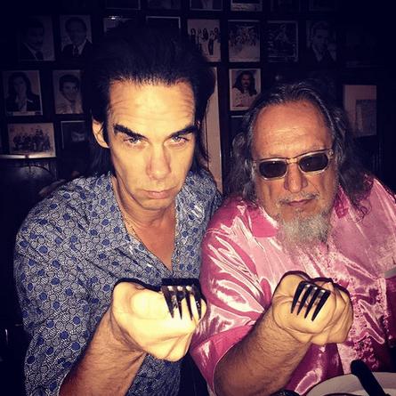 Nick Cave with Ratso Sloman