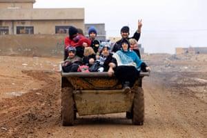 Mosul, Iraq: Displaced people