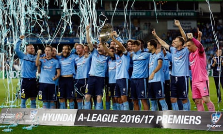Sydney FC break A-League points record to win Premier's Plate