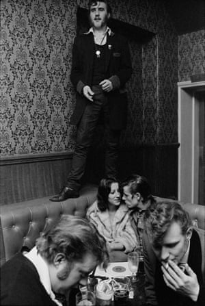 Barry Ransome in the Castle, Old Kent Road, London, England 1976.