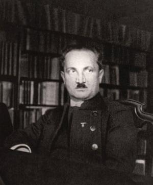 Martin Heidegger, c1933.