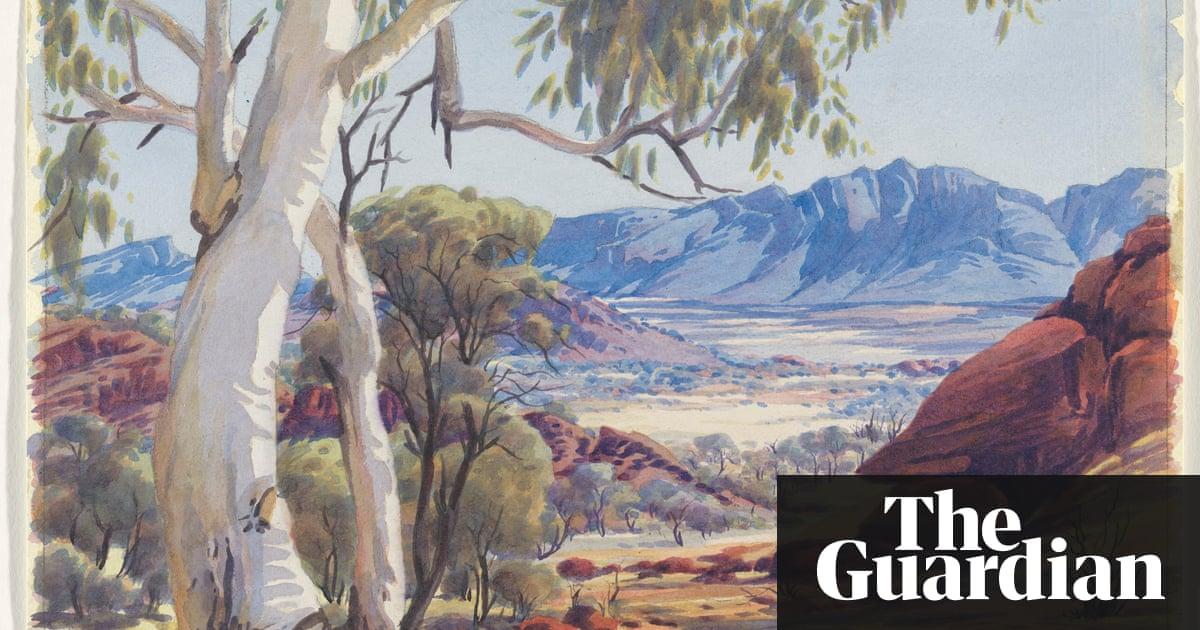 Albert Namatjira Vivid Watercolours Of The Australian