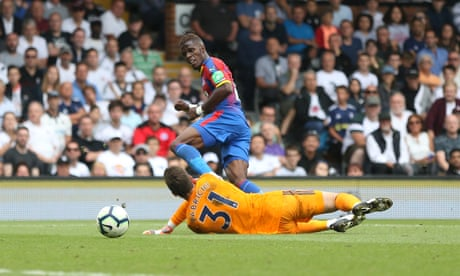 Wilfried Zaha seals Crystal Palace win and teaches Fulham harsh lesson