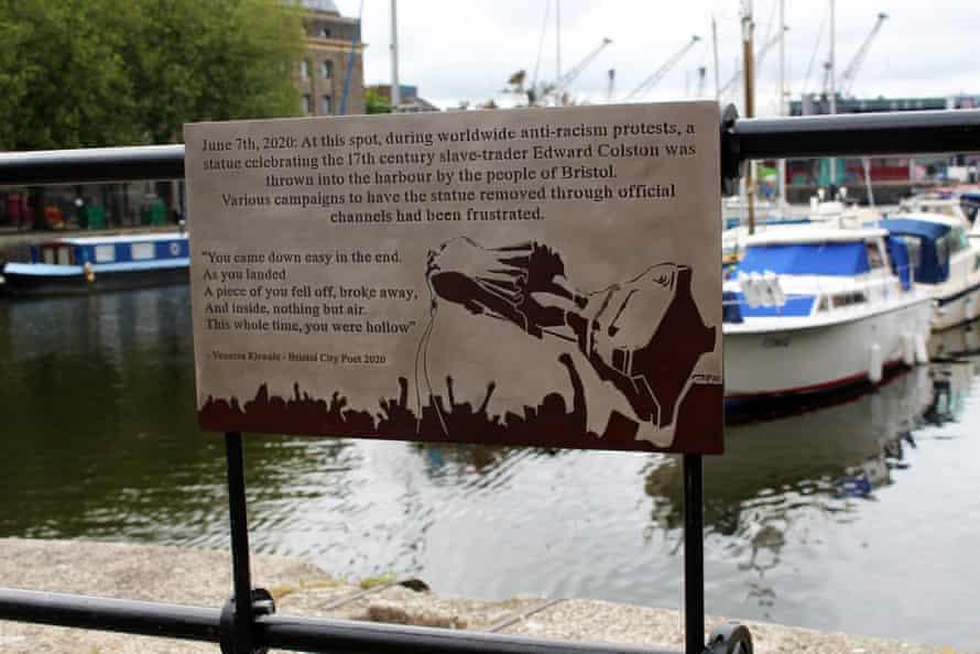 Harbourside plaque