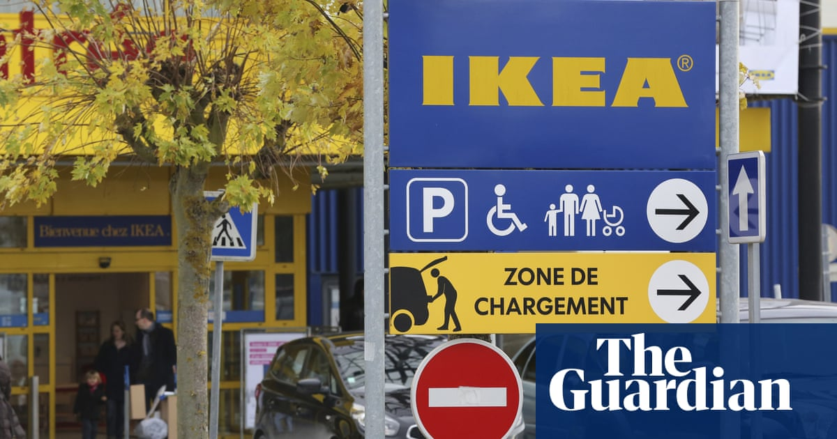 Ikea fined €1.1m by French court for spying on staff