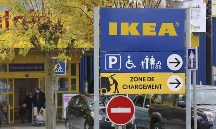 Two former Ikea France executives were also convicted and fined.