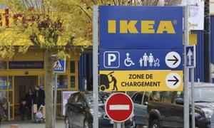 An IKEA store in Plaisir, west of Paris.