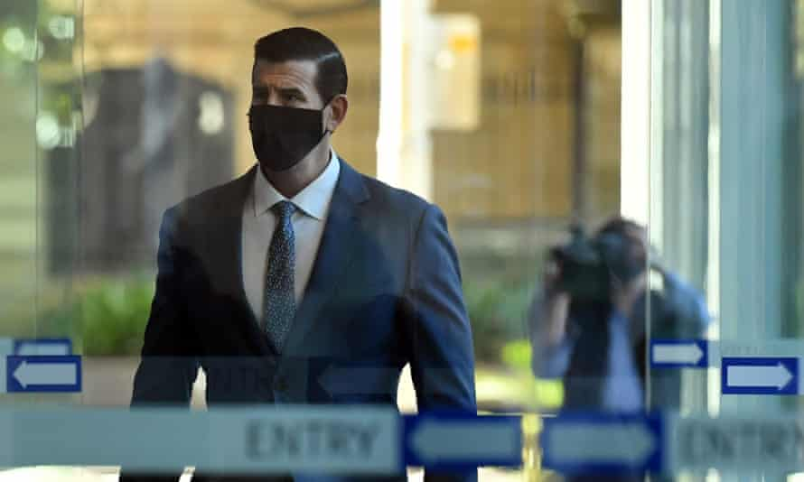 Ben Roberts-Smith arrives the Federal Court
