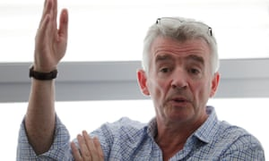Michael O'Leary did not take his annual bonus but still received a remuneration package of €2.3m.