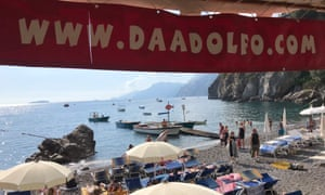 DaAdolfo, Positano, Italy