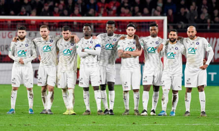 Amiens were second bottom in Ligue 1 at the time the season was ended