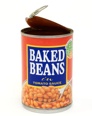 Don't keep open tins of food in the fridge – decant the contents.