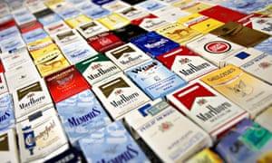 Cigarette packings