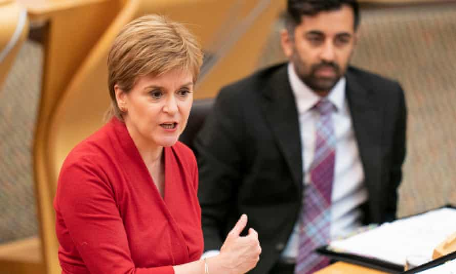 Sturgeon has repeatedly said she sees no conflict between her feminism and her support for transgender rights.