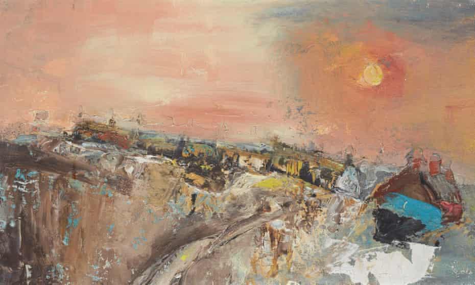 Winter Day, Catterline, by Joan Eardley.