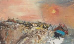 Joan Eardley's Winter Day, Catterline