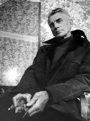 Samuel Beckett in 1975.