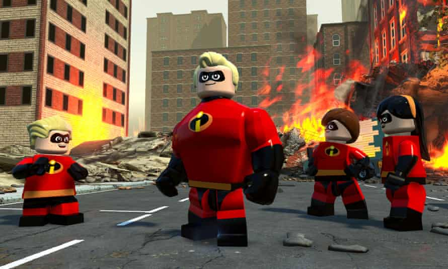Team up … Lego The Incredibles.