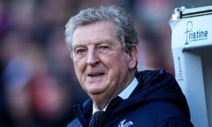 Still managing, Crystal Palace boss Roy Hodgson.