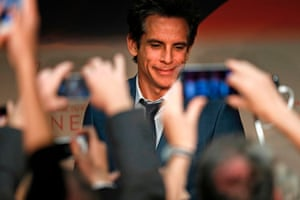 US actor Ben Stiller arrives for a press conference for the film 'The Meyerowitz Stories (New and Selected)' at the 70th edition of the Cannes Film Festival in Cannes, southern France, on May 21, 2017. / AFP PHOTO / Laurent EMMANUELLAURENT EMMANUEL/AFP/Getty Images