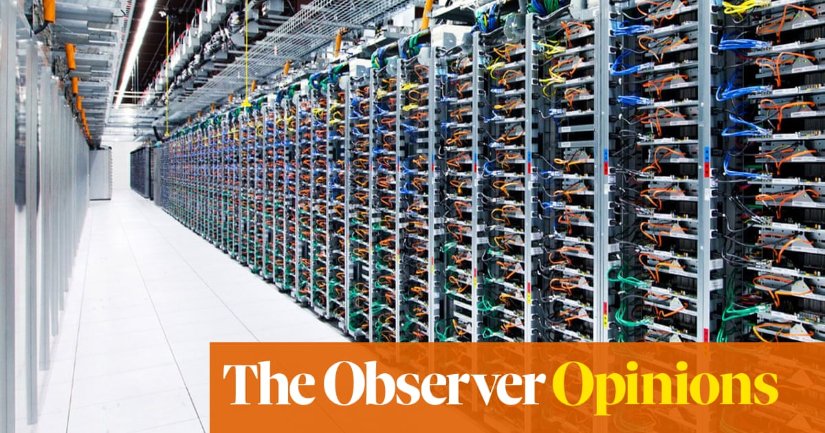 The trouble with big data is the huge energy bill | John