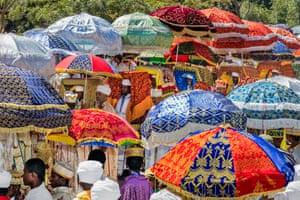 timqat procession in Lalibela
