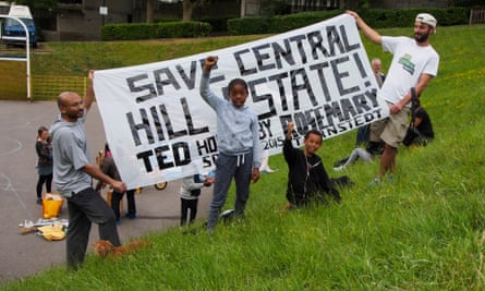 Locals campaign for Central Hill: only two residents out of 150 questioned wanted the estate demolished.