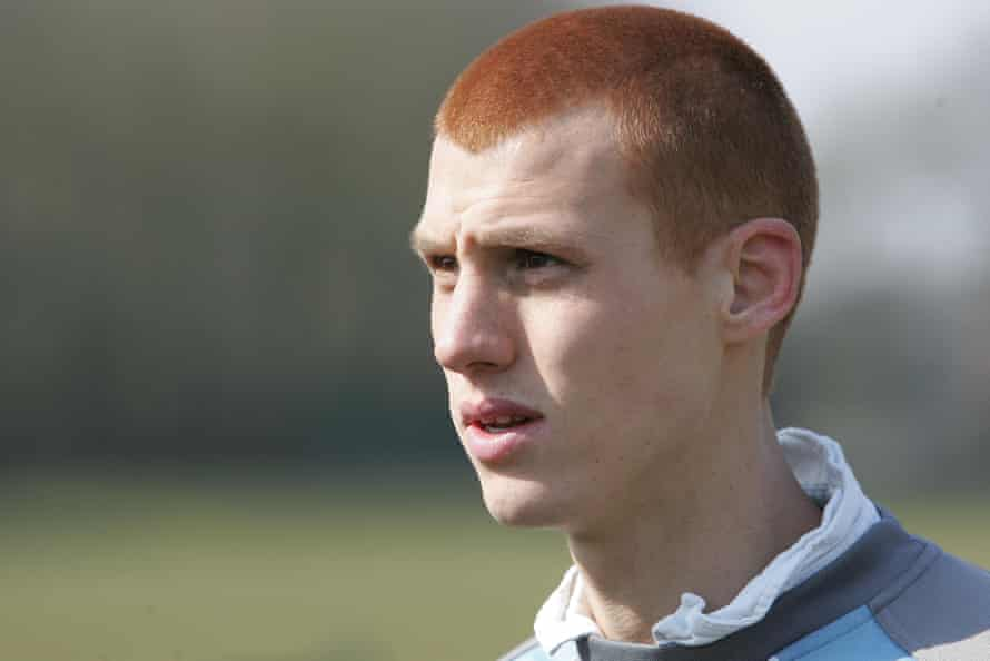 Steve Sidwell during training at Reading back in 2006.