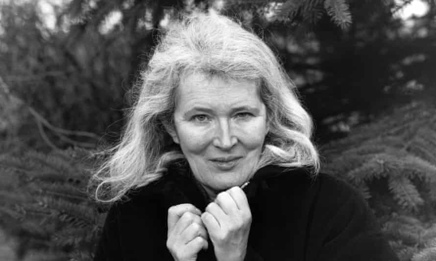 Angela Carter, photographed in 1984.