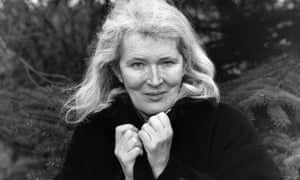 Angela Carter pictured in 1984