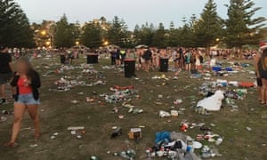 Beach Party 2020 Sydney Christmas Day Sydney's Coogee beach devastated by garbage after 'backpacker