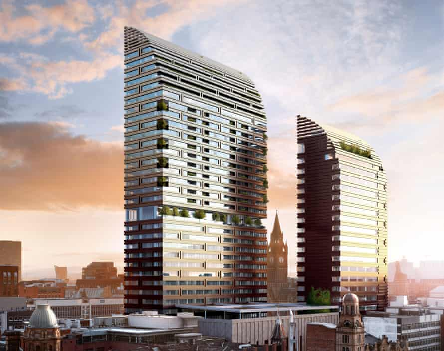 The St Michael's development in Manchester, designed by Make Architects.
