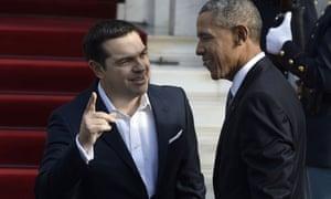 Tsipras welcomes Obama