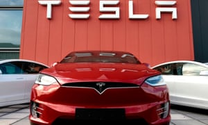 A Tesla showroom and service centre