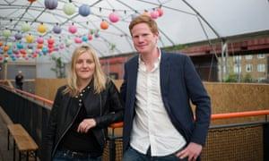 Snact founders Ilana Taub and Michael Minch-Dixon