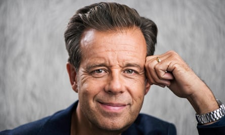 Pat Sharp: 'I think I'm actually pretty boring. I quite like washing my car, really.'