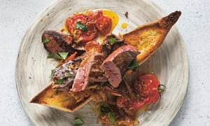 Christopher's seared liver