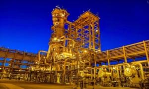 Saudi Aramco's Manifa oilfield.