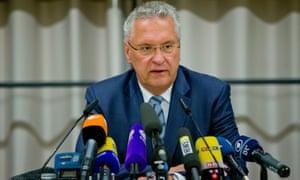 巴伐利亚内政部长约阿希姆赫尔曼