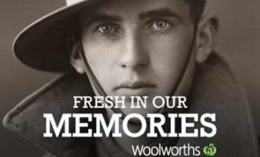 anzac woolworth campaign