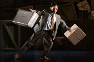 Paying witness to history … Michael Marquez of Phoenix Dance Theatre in Windrush.