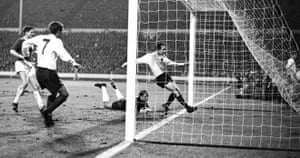 Stiles scored his first and only goal for England on 23 February 1966