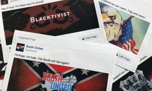 Some of the Facebook ads linked to a Russian effort to disrupt the American political process and stir up tensions around divisive social issues, released by members of the US House intelligence committee.