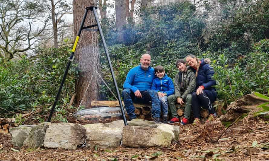 Owen Gardner and family
