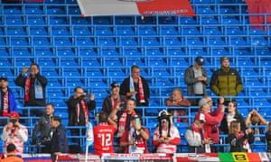 Leipzig fans.