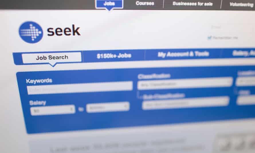 Online job search engine Seek