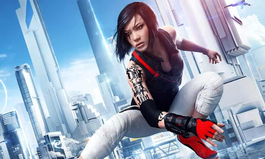 Faith from Mirror's Edge offers grit, physical prowess and a minimalist style that reflects her environment