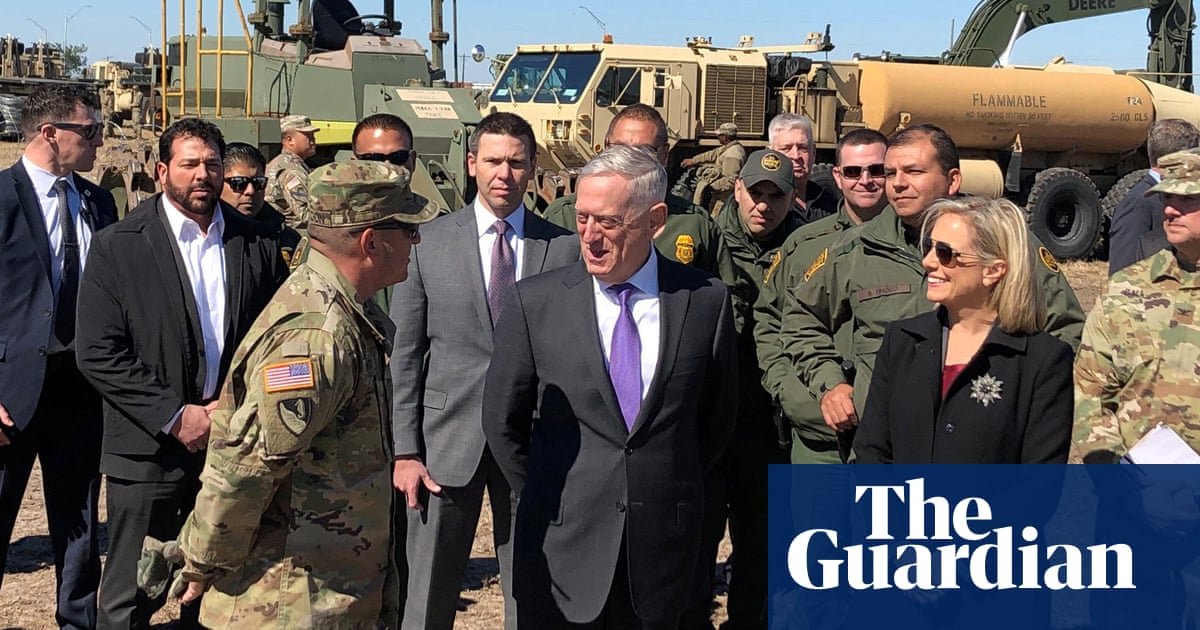 Jim Mattis defends deployment of US troops to Mexico border