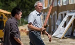 Clint Eastwood in Gran Torino.