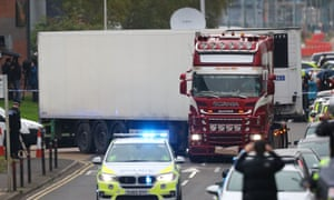 The 39 people were found dead in a lorry container on an industrial estate in Grays on 23 October last year.